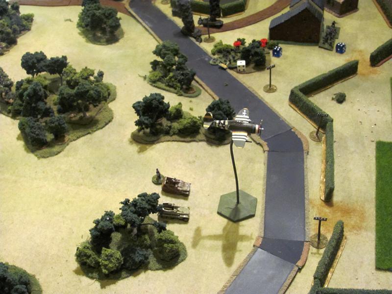 9th Tactical Air intervenes