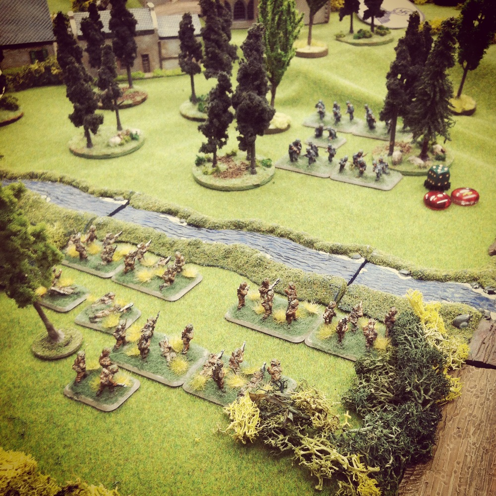 Canadian and German troops open fire across the stream just north of Saint Lambert-Sur-Dives