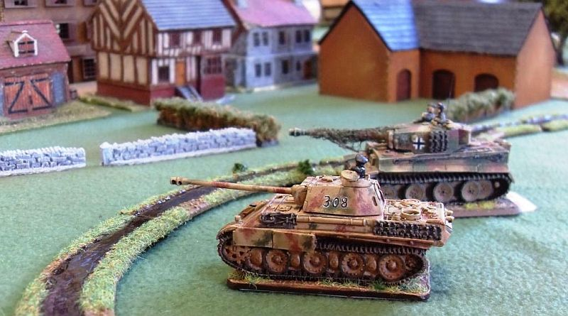 Big cats move to defend the left flank
