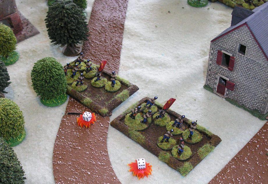 Platoon Four lose again