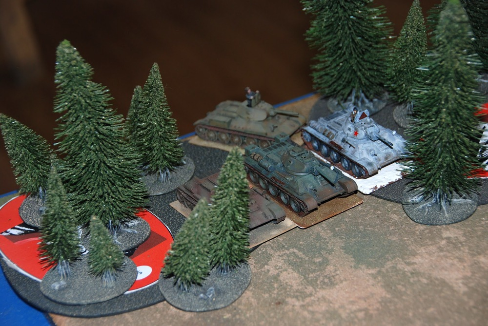 The feared T-34s attack