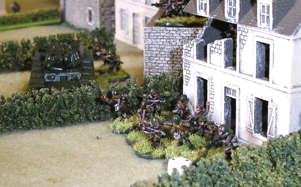 Advance through the gardens