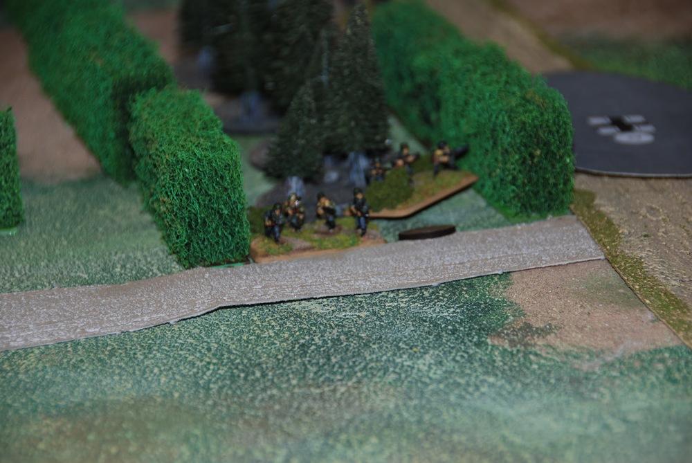 German Infantry Platoon and Blind (Stugs Platoon)