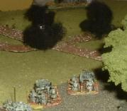 Max's French 47mm successfully ambush German armoured cars