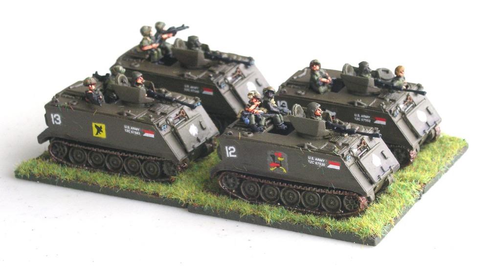 M113 APCs