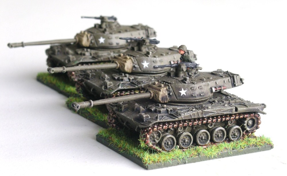 M41 A3 Walker Bulldog Tanks