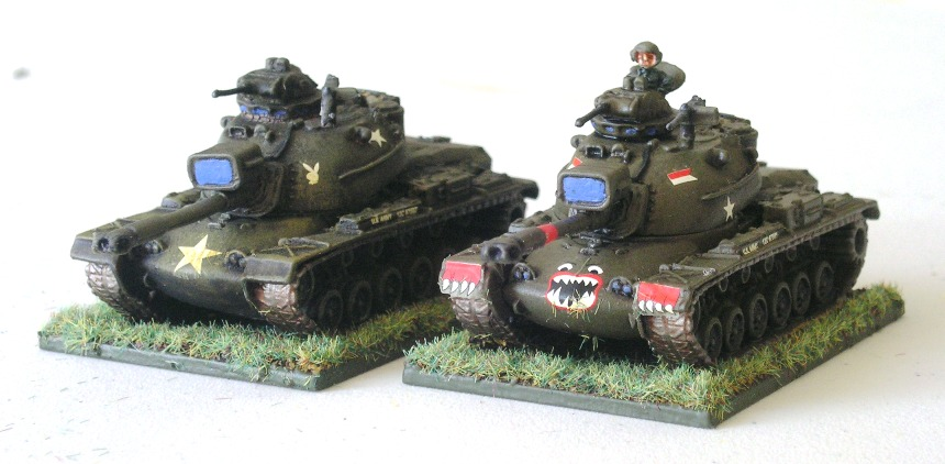 M48 A3 Patton Tanks