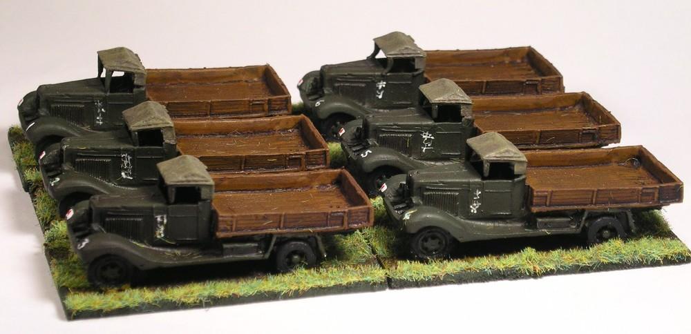 Ammunition Platoon (isuzu trucks)