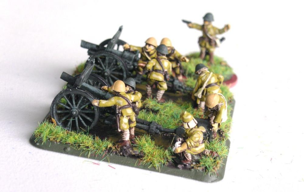 Howitzer Platoon: Type 41 (75mm)