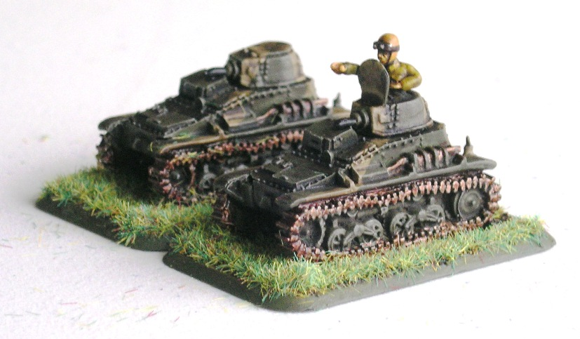 ATTACHED: TYPE 94 TANKETTES