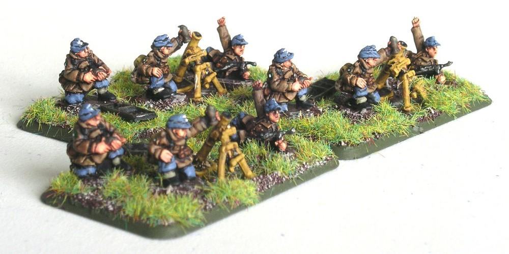Schwerer Gruppe Mortars(3 x 81mm Mortar)