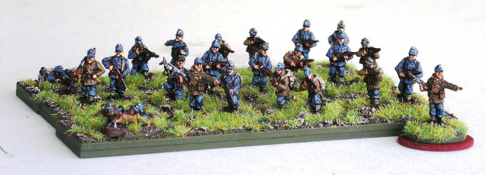 1st Platoon (3 x Rifle Gruppe) [understrength]