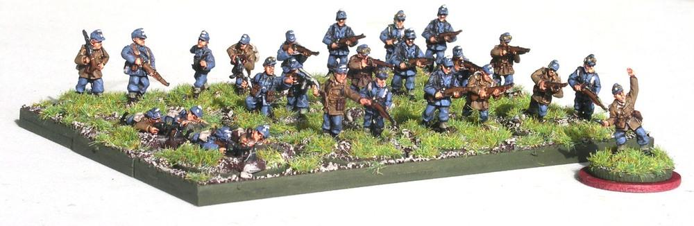 2nd Platoon (3 x Rifle Gruppe)