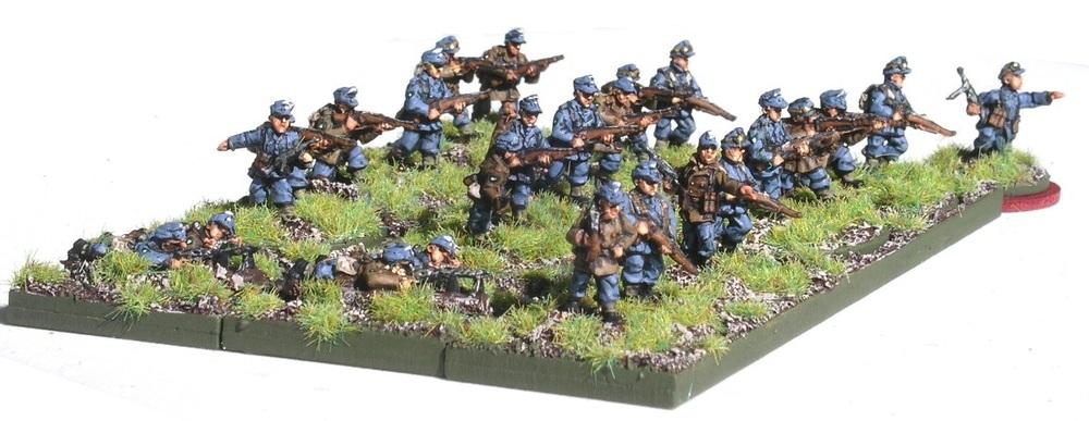 3rd Platoon (3 x Rifle Gruppe)