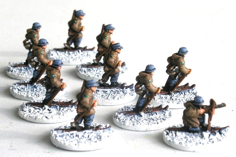 (Understrength) Reconnaissance zug (1/3 x Rifle Gruppe on Skis)
