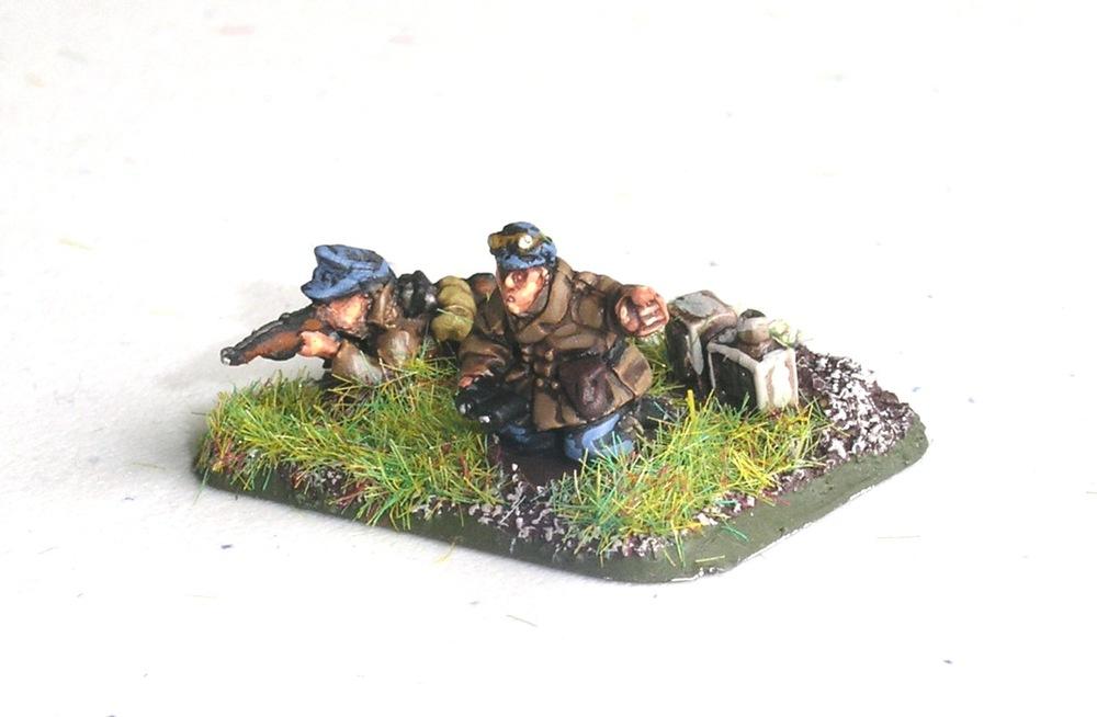 FOO to Regimental Heavy Mortar Zug (4 x 12cm Mortars)