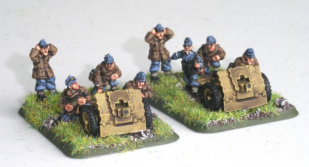 Light Infantry Gun Zug(2 x 75mm Infantry Guns)