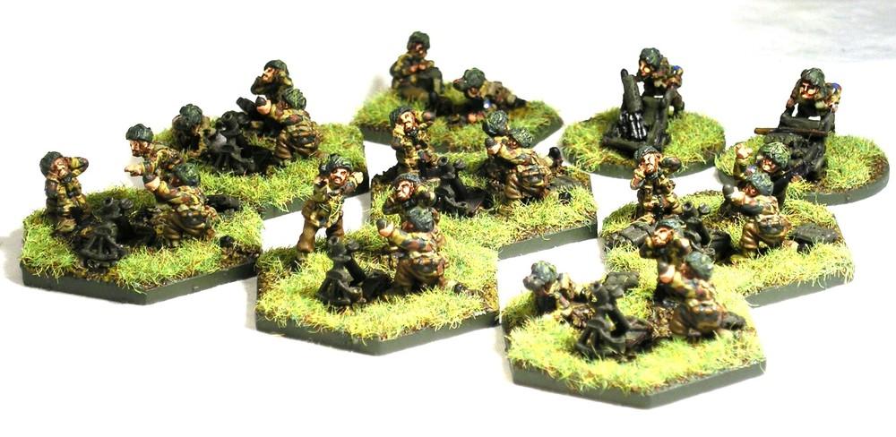 "1st Mortar Platoon (option one: 3"" Mortars)"