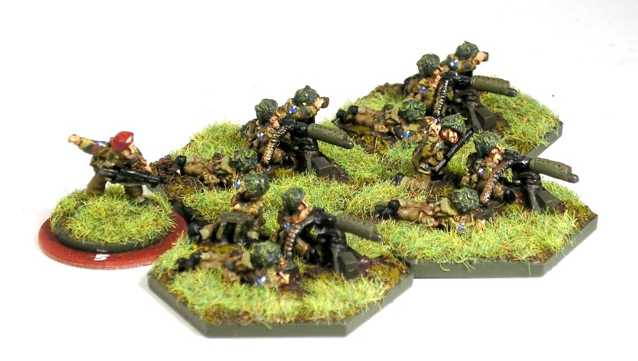 2nd mortar Platoon (option two:  MMgs)