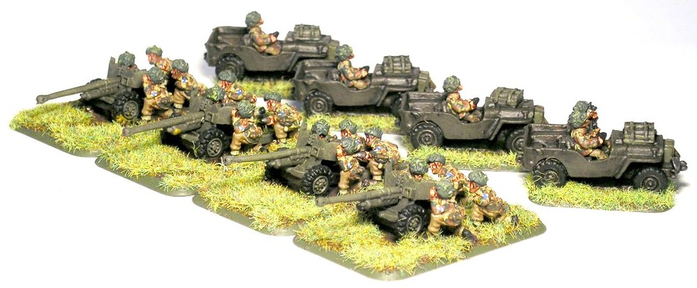 Anti-tank platoon (6PDR at guns)
