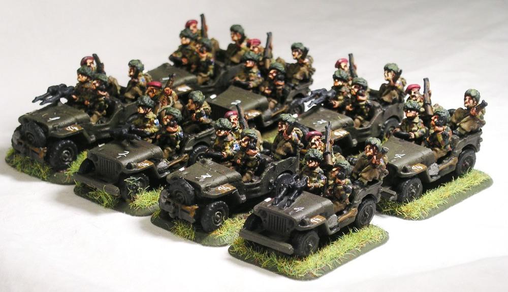 Extempore reconnaissance troop