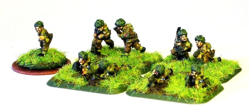Anti-tank platoon (PIATS)