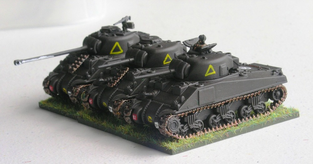 "(UNDERSTRENGTH) TROOP TWO (2/3 x SHERMANS, 1 x  SHERMAN VC ""FIREFLY"")"