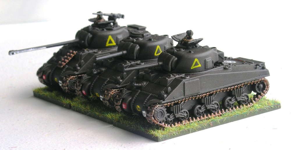 "(UNDERSTRENGTH) TROOP Three (2/3 x SHERMANS, 1 x SHERMAN VC ""FIREFLY"")"