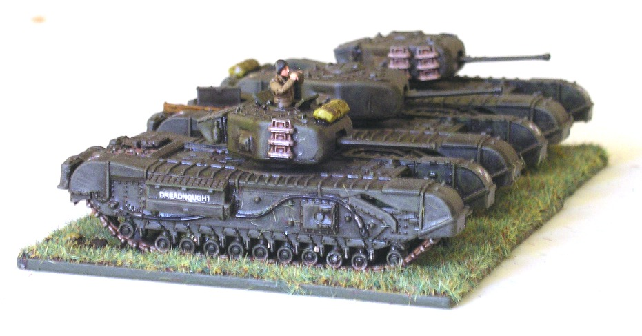 12 Troop (3 x Churchill Mk IV)