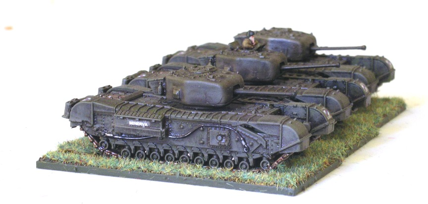 13 Troop (3 x Churchill Mk IV)