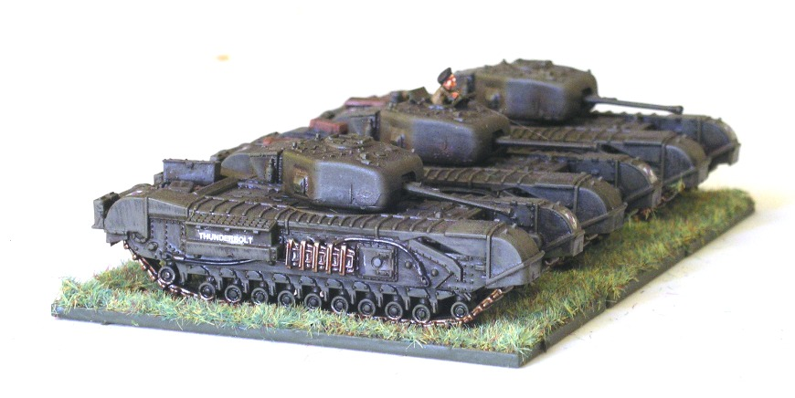 14 Troop (3 x Churchill Mk IV)