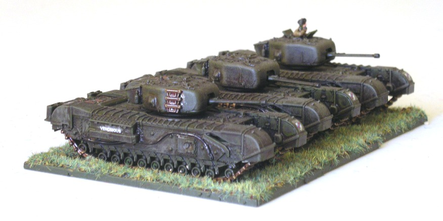 15 Troop (3 x Churchill Mk IV)