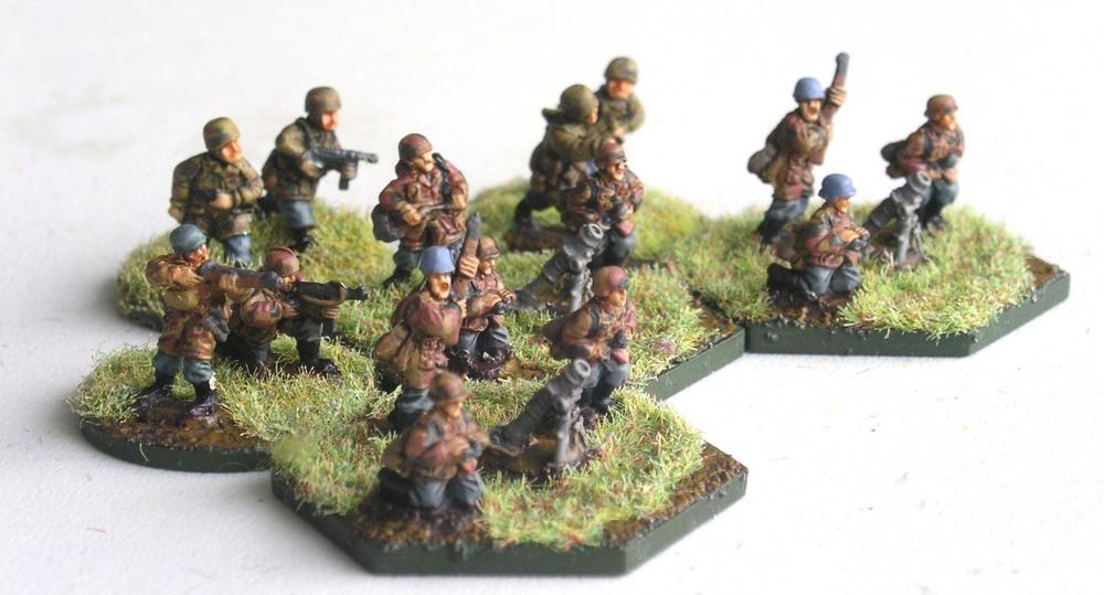 Kompanie Hq Mortars ( 3x 8cm Mortar)