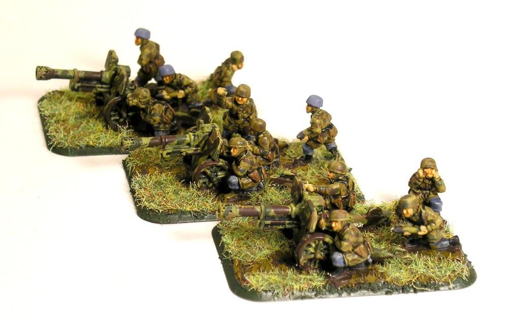 Light Infantry Gun Zug(3 x 75mm Infantry Guns)