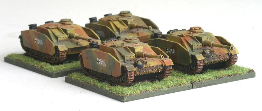 Assault Gun Zug(4 x STuG III)