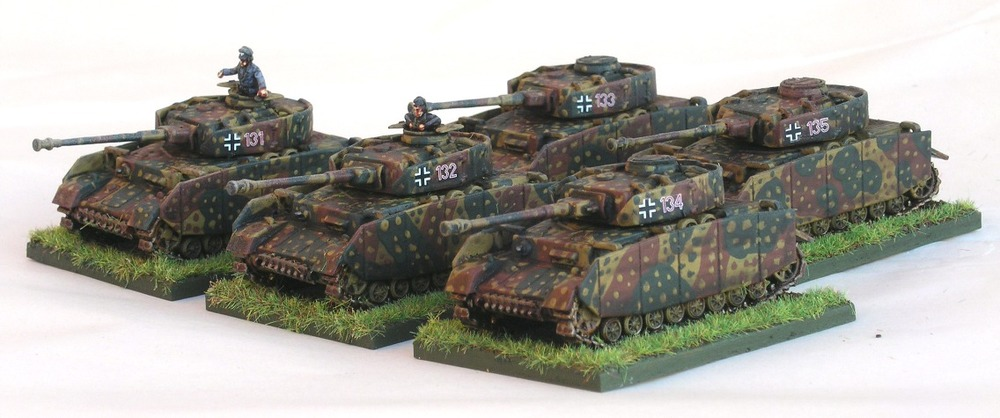 ZUG TWO (5 X PANZER IV H OR J)