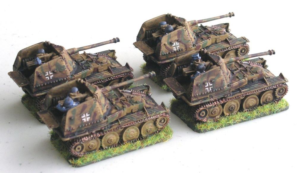 OPTION THREE: 1943   (4 X MARDER III)
