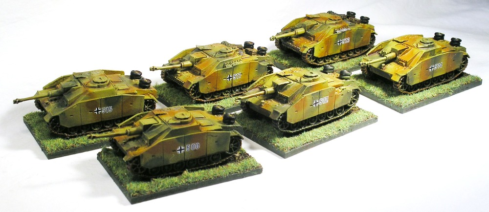(Overstrength) Option SEVEN: 1943-5 (6/4 x StuG III)