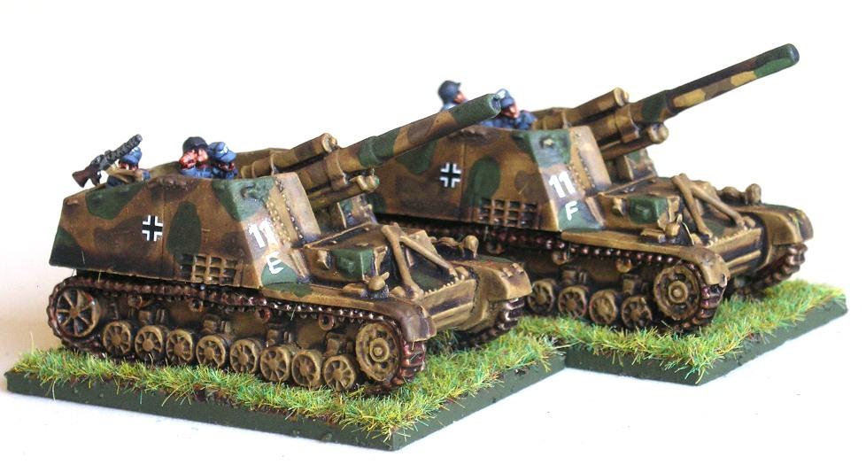 (Understrength) SP Artillery Battery(2/4 x 155mm Hummel)