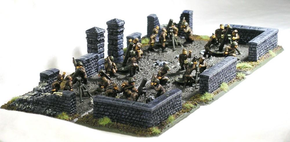 Heavy Mortars(120mm Mortars)