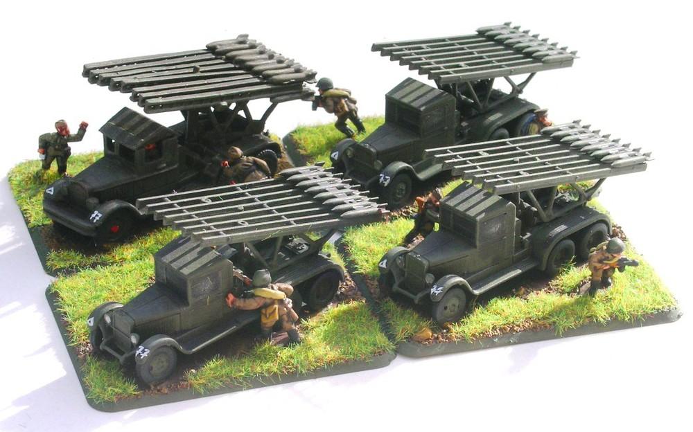 Divisional Artillery Battery (4 x Katyusha)