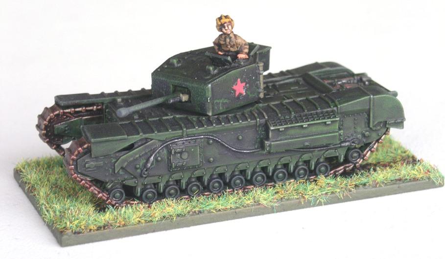 Lend Lease Heavy Tank(1 x Churchill Mk III)