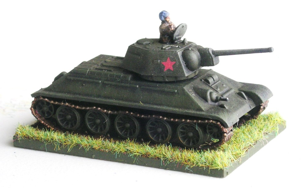 Company HQ (1 x T-34)