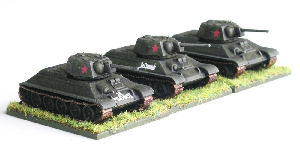 VZVOD Three  (3 X T-34)