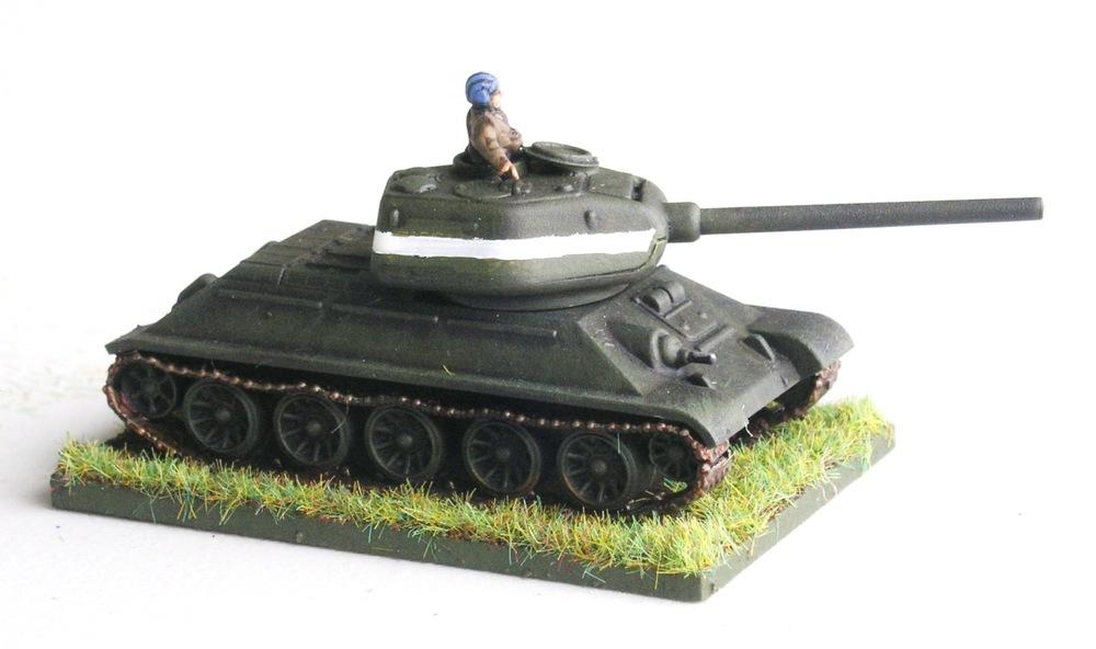 COMPANY HQ (1 X T-34/85)