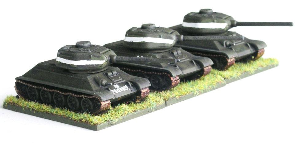 VZVOD ONE  (3 X T-34/85)