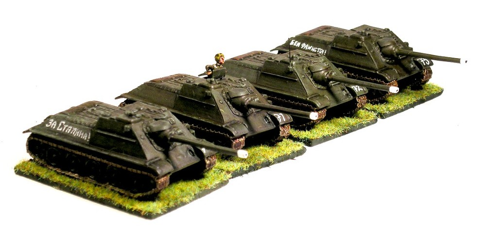 SP Anti-Tank VzvodOption One (4 x SU-85)
