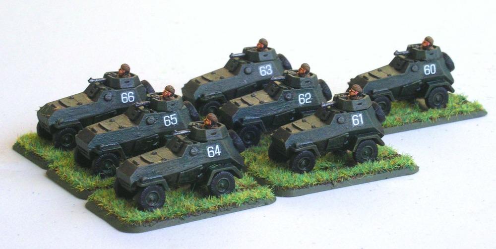 Armoured Car Vzvod(7 x BA-64B Armoured Cars)