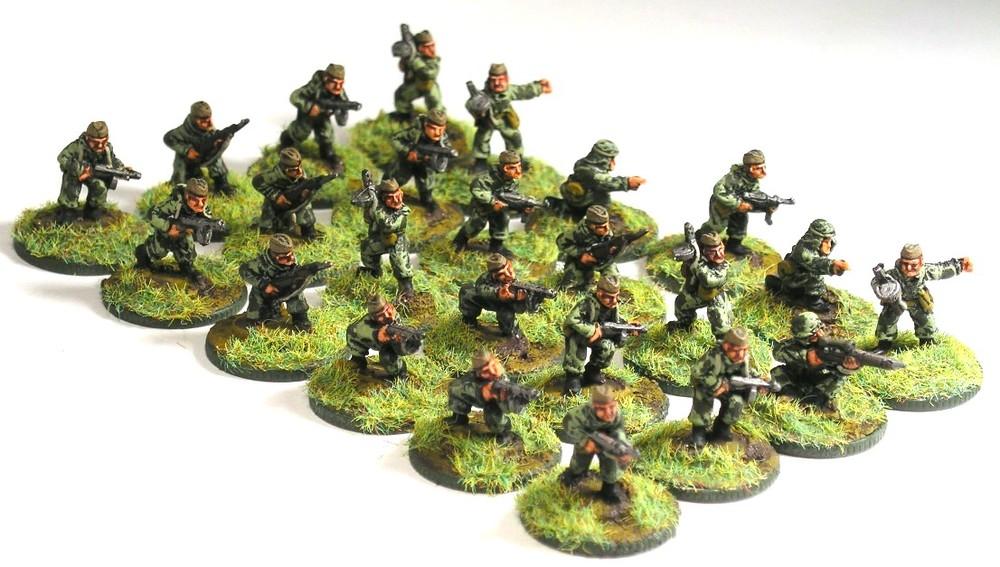 Armoured Reconnaissance Vzvod(3 x Scout Squad)