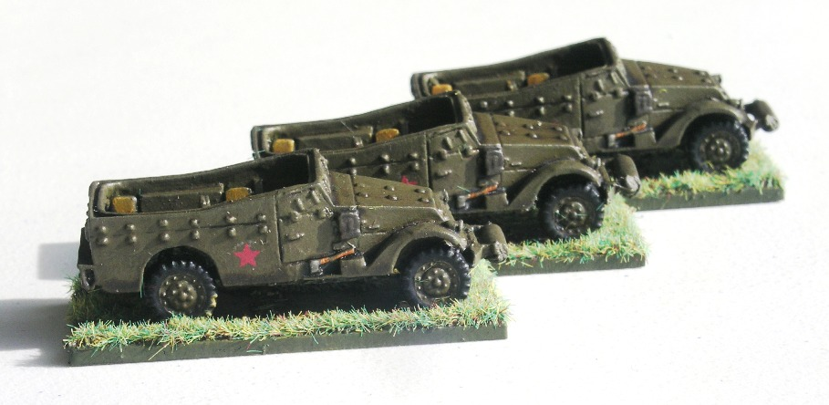Armoured Recon. Transport (3 x Lend-Lease M3A1 Scout Car)